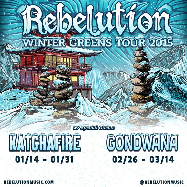 Rebelution w/ Katchafire @ The House of Blues Houston , Tx  Jan 18th, 2015