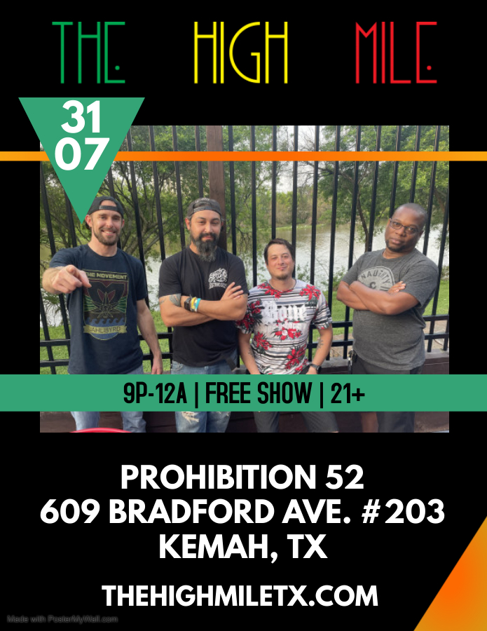 The High Mile Live @ Prohibition 52